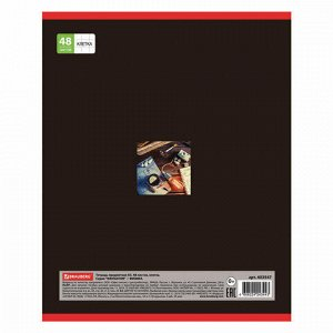 Тетрадь предметная NAVIGATOR 48 листов, выборочный лак, ФИЗИКА, клетка, подсказ, BRAUBERG, 403547