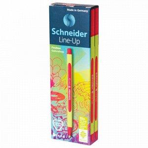 """Ручка капиллярная (линер) SCHNEIDER (Германия) """"Line-Up"""", АЛАЯ, трехгранная, линия письма 0,4 мм, 191002"""