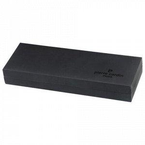 """Ручка подарочная шариковая PIERRE CARDIN (Пьер Карден) """"Eco"""", корпус черный матовый, латунь, золотистые детали, синяя, PC0867BP"""