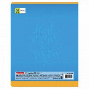 Тетрадь предметная ПАЛИТРА ЗНАНИЙ 36 листов, обложка мелованная бумага, ФИЗИКА, клетка, BRAUBERG, 403509