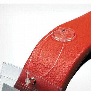 Крепления круглые MBR-RT, комплект 100 шт., прозрачные, 2-сторонний скотч, максимальная нагрузка 0,5 кг, 251098