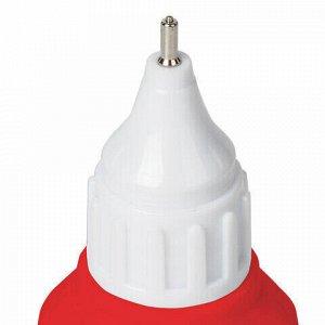 Ручка-корректор + корректирующая жидкость BRAUBERG, 12 мл, 2 в 1: металлический наконечник + кисточка, 225217