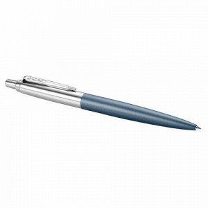 """Ручка шариковая PARKER """"Jotter XL"""", УТОЛЩЕННЫЙ корпус, синий матовый лак, детали из нержавеющей стали, синяя, 2068359"""