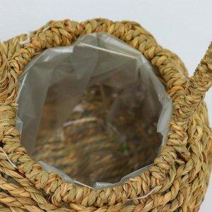 Корзина плетёная, 12х12х12 см