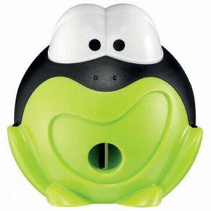 """Точилка MAPED """"Croc Croc Signal"""", интерактивная, с контейнером, пластиковая, корпус ассорти, 017711"""