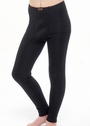 Кальсоны Цвет: чёрный Описание: Кальсоны комфортного кроя на внутренней резинке, благодаря эластичному полотну и широким манжетам, хорошо облегают фигуру и очень удобны в носке. Кальсоны оформлены сти