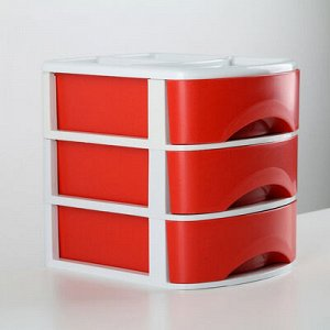 Мини-комод 3-x секционный «Минибокс-3», цвет МИКС
