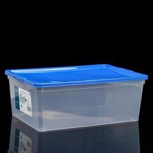 Коробка для xранения с крышкой, 10 л, 37?26?14 см, цвет МИКС