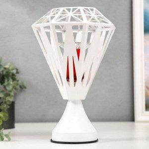 Аромасветильник сенсорный 16187/1 G4 20Вт белый 21.5х21.5х30 см