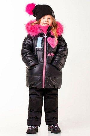 413971 Комплект/куртка+п/комб./ зима мод.100501 цв. чёрный