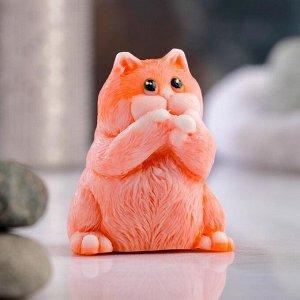 """Фигурное мыло """"Толстый кот"""" 77гр"""