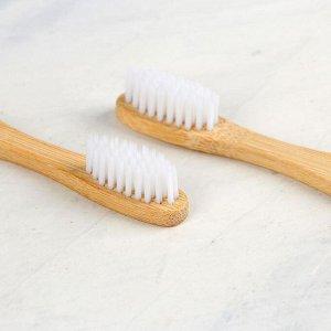 Набор из двух зубных щеток «Хо-хо», 19,1 х 9,1 см