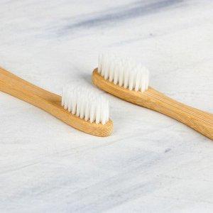 Набор из двух зубных щеток «Зима», 19,1 х 9,1 см