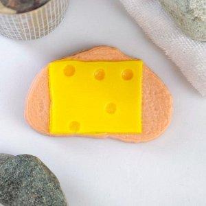 """Мыло фигурное """"Бутерброд с сыром"""" 85гр"""