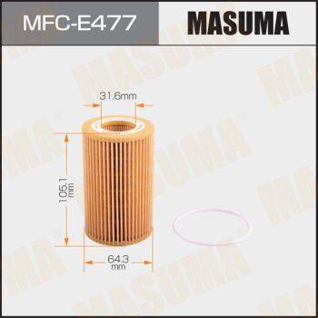 Автотовары и автозапчасти — Фильтры масляные Masuma — Запчасти и расходники