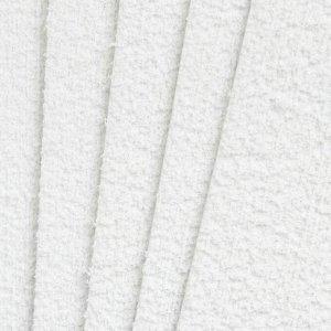 """Фоамиран махровый """"Белый"""" 2 мм (набор 5 листов) формат А4"""