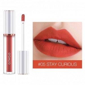 Блеск для губ O.TWO.O Matte Liquid Lipstick № 5 3 ml