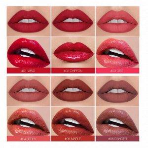 Блеск для губ O.TWO.O Black Gold Lip Color 2 in 1 № 6 Danger 3.5 ml