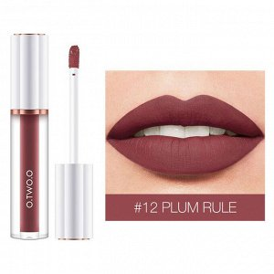 Блеск для губ O.TWO.O Matte Liquid Lipstick № 12 3 ml