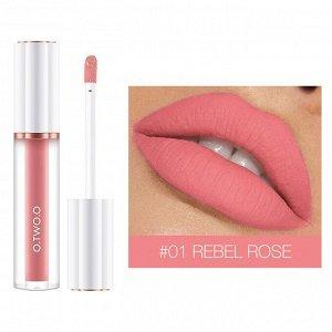 Блеск для губ O.TWO.O Matte Liquid Lipstick № 1 3 ml