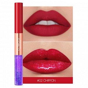 Блеск для губ O.TWO.O Black Gold Lip Color 2 in 1 № 2 Chiffon 3.5 ml