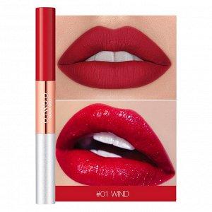Блеск для губ O.TWO.O Black Gold Lip Color 2 in 1 № 1 Wind 3.5 ml