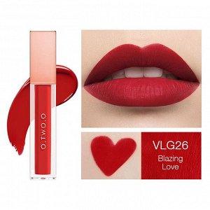 Жидкая помада O.TWO.O Rose Gold Velvet Lip Glide Fondant A Levres Velours № VLG 26 5.7 ml