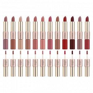 Помада O.TWO.O Rose Gold 2 in 1 Matte Lipstic & Liquid Lipstik № 12 3.5 g