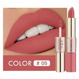 Помада O.TWO.O Rose Gold 2 in 1 Matte Lipstic & Liquid Lipstik № 5 3.5 g