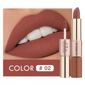 Помада O.TWO.O Rose Gold 2 in 1 Matte Lipstic & Liquid Lipstik № 2 3.5 g