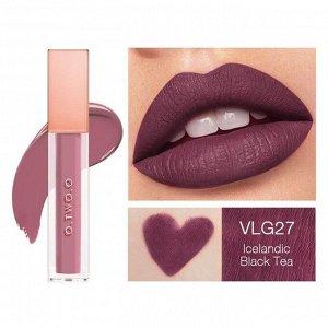 Жидкая помада O.TWO.O Rose Gold Velvet Lip Glide Fondant A Levres Velours № VLG 27 5.7 ml