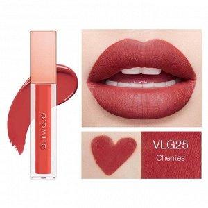 Жидкая помада O.TWO.O Rose Gold Velvet Lip Glide Fondant A Levres Velours № VLG 25 5.7 ml