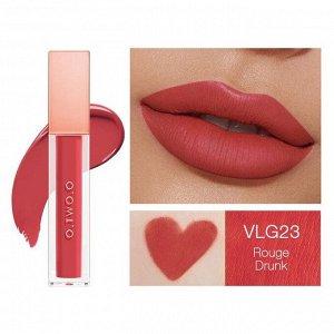 Жидкая помада O.TWO.O Rose Gold Velvet Lip Glide Fondant A Levres Velours № VLG 23 5.7 ml