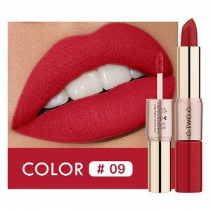 Помада O.TWO.O Rose Gold 2 in 1 Matte Lipstic & Liquid Lipstik № 9 3.5 g