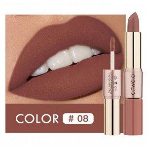 Помада O.TWO.O Rose Gold 2 in 1 Matte Lipstic & Liquid Lipstik № 8 3.5 g