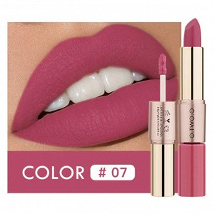 Помада O.TWO.O Rose Gold 2 in 1 Matte Lipstic & Liquid Lipstik № 7 3.5 g