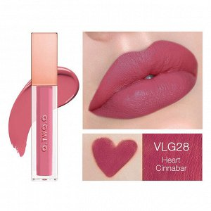 Жидкая помада O.TWO.O Rose Gold Velvet Lip Glide Fondant A Levres Velours № VLG 28 5.7 ml