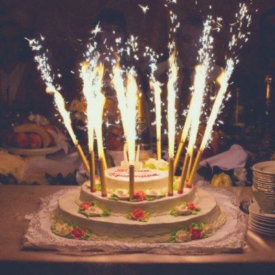 №177=✦Территория праздника✦.Все для организации праздника ◄╝ — Свеча д/торта — Свечи для торта