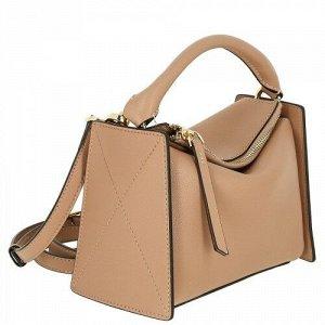 Женская кожаная сумка 6293 BEIGE