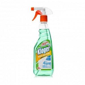 Kloger Чистящее средство д/стекол с нашатырным спиртом 500 мл
