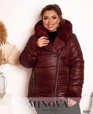Куртка №17-244-бордо