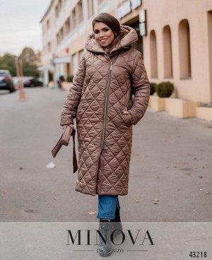 Пальто №18541-1-какао