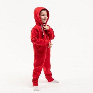Комбинезон Хлопок 80%, полиэстер 20% Стильный теплый детский комбинезон от VEDDI выполнен из футера, приятного и мягкого на ощупь. Комбинезон свободного кроя, не сковывает движения и подходит для акти
