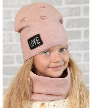 15-56-F (50-54) Комплект (шапка/шарф-снуд)