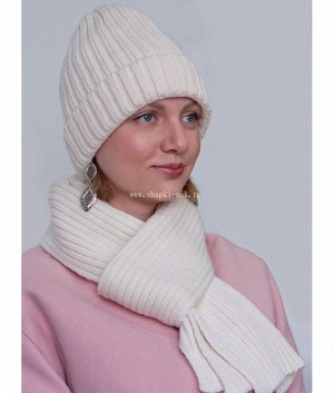 473 К-ТД флис (шапка+шарф) Комплект