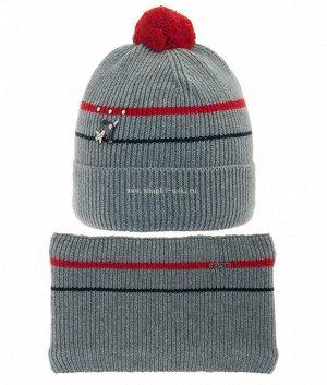 Небосвод (52-56) (шапка+воротник) Комплект