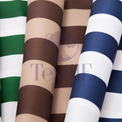 TEXTILE➕№5 - Всё для штор, мягкой мебели, текстиль для дома  — Уличная ткань Oxford Полоса  — Ткани