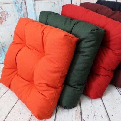 TEXTILE➕ Всё для штор, мягкой мебели, текстиль для дома — Подушка на стул: для дома / для улицы