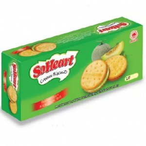 "Печенье со вкусом дыни ""Soheart melon"", 150гр"