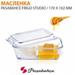Масленка Pasabahce Frigo Studio / 170 х 102 мм